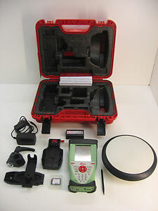 Leica Viva Gs08 Gps Cs10 Glonass Rtk Kit For Surveying