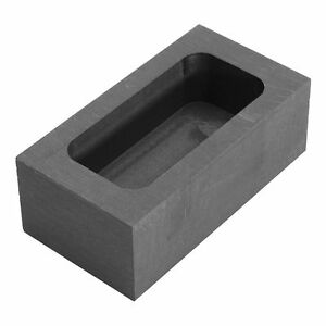 23.5OZ Graphite Casting Ingot Bar Mold For Gold Silver Copper Melting P4H1