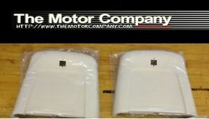 1969 1970 1971 1972 Nova Ss 396 Chevy Ii Super Sport Seat Backs Backs Only pearl