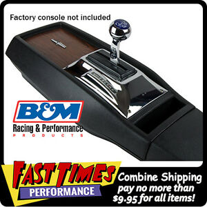 B M 1968 1969 Camaro Quicksilver Console Automatic Ratchet Shifter Th 350 400