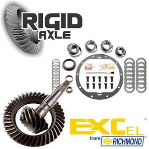 Gm 8 6 10 Bolt 4 10 Richmond Excel Ring Pinion Gear Set W Master Bearing Kit
