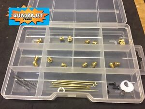Quadrajet Ultimate Tuning Kit Jets Primary Rods Springs And So Much More