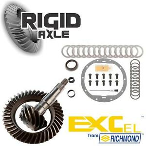 Gm Chevy 8 6 10 Bolt 4 56 Richmond Excel Ring Pinion Gear Set With Install Kit