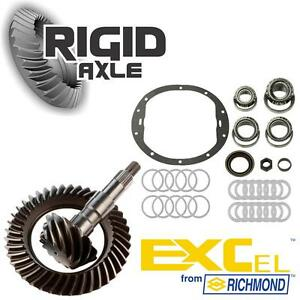 09 Gm 8 6 10 Bolt 4 56 Richmond Excel Ring Pinion Gear Set Master Bearing