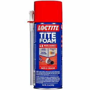 Loctite Titefoam Insulating Foam Sealant Case Of Twelve 12 Ounce Cans 19887