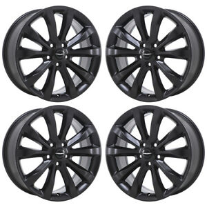 19 Chrysler 300 Awd Black Wheels Rims Factory Oem 2016 2017 Set 4 2538 Exchange