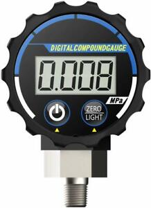 Elitech Pg 20 Digital Vacuum Pressure Gauge For Air And Compatible Gases