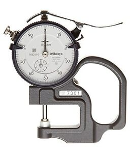Mitutoyo 7301 Dial Thickness Gage 2046sb