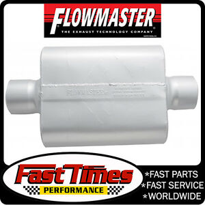 Flowmaster 54030 12 30 Series Delta Force Race Muffler 4 Center In center Out