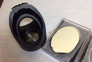 2 Silver Elliptical Mirror 45 Mount For 2 Elliptical Optics Base Adapter