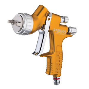 Devilbiss 704198 Tekna Clearcoat Spray Gun Auto Paint 1 2 1 3 1 4mm Tips