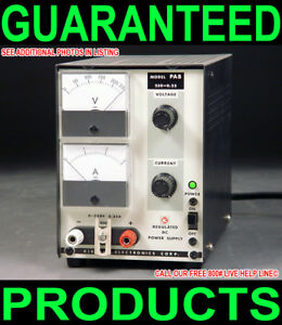 Kikusui Pab 250 0 25 0 250v 0 250ma Variable Regulated Metered Dc Power Supply