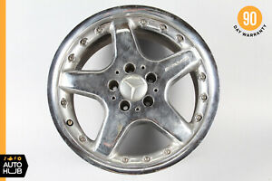Mercedes W208 Slk320 Slk32 Clk55 Amg 2 Piece Rear Rim Wheel 8 5 X R17 17 Oem