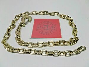 Auto Body Frame Machine Pull Chain 3 8 X 9 Grade 70 With 3 8 Clevis Slip Hook