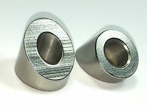 316 Stainless Steel 32 Degree Angled Beveled Washer For 1 4 qty 20
