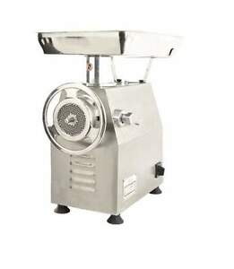 Omcan Mg cn 0032 m 32 2 75 Throat Professional Stainless Steel Meat Grinder