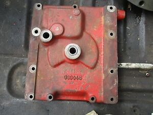 1975 International 1066 1466 1566 Tractor Shift Shifting Cover Plate Free Ship