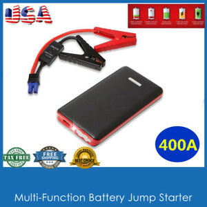 400a Car Truck Motorcycle Jump Starter Battery Booster Charger Power Bank Led Us