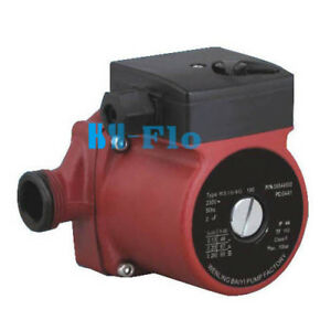 G 1 1 2 3 speed Hot Water Circulation Pump 220v Circulating Pump 25 4g