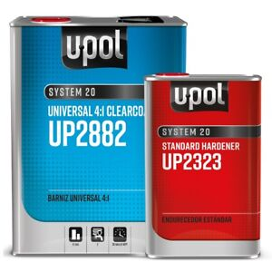 U pol 2882 2323 4 1 Universal Clearcoat Kit