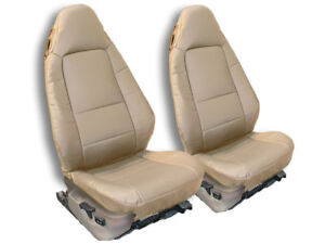 Bmw Z3 1996 2002 Beige Iggee S leather Custom Fit Front Seat Cover