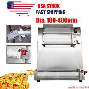 Automatic Pizza Dough Roller Sheeter Machine Pizza Making Maker Dhl Ship