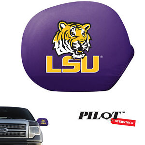 College Cars Suv Side View Mirror Covers Louisiana State University Lsu Tigers