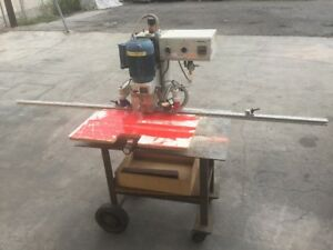 Used Omal Insert C 5 spindle Hinge Boring Insertion Machine