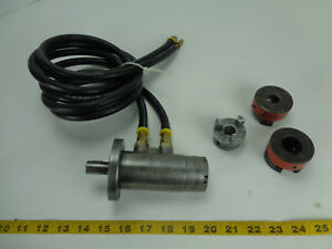 Lamina Hydraulic Fluid Motor 388 With Hoses And Lovejoy L 090 Couplers T