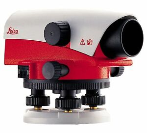 New Leica Na724 24x Automatic Optical Level For Surveying 1 Year Warranty