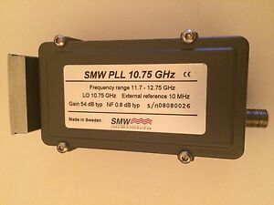 Smw Pll 10 75 Ghz External 10 Mhz Reference Ku Band Lnb 11 7 12 75 Ghz
