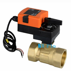 G 1 2 Way Electric Control Ball Valve 230v Ac Motorized Modulating Valve