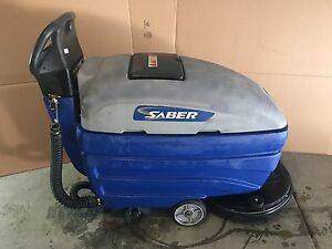 Used Commercial Automatic Scrubber Saber Compact 20 Windsor