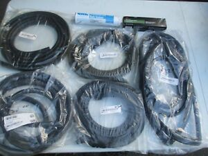 1965 66 Mustang Fastback 9 Piece Weatherstripping Kit With Adhesive