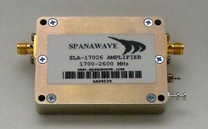 New Spanawave Low Noise Amplifier 1500 2000 Mhz Sla 15020g