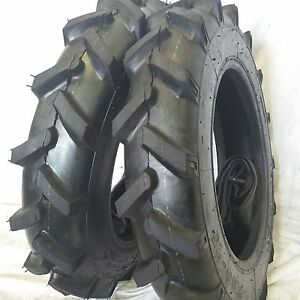 Two 5 00 15 Road Warrior Tires With Tubes Compact Tractor Tire Lug 500 15 R1