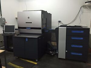 Hp Indigo 5600 Digital Press With Upgrades