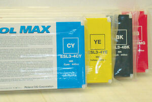 Roland Eco Sol Max New Sealed 440 Cmyk Freeshipping In Usa