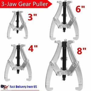 4 Pcs 3 Jaw Gear Pulley Bearing Puller Set 3 4 6 8 Reversible Small Legs Bp