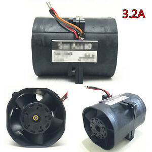 3 2a Car Electric Turbine Turbo Charger Power Air Booster Fuel Save Universal
