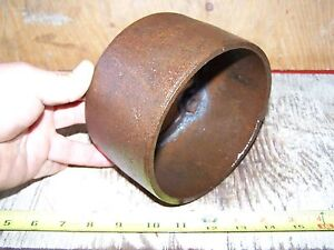 Old Ottawa Cast Iron Belt Pulley Hit Miss Gas Engine Steam Tractor Ma