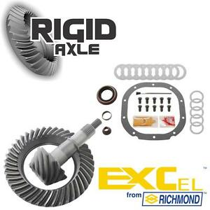 Ford 8 8 10 Bolt 3 73 Richmond Excel Ring And Pinion Gear Set W Install Kit