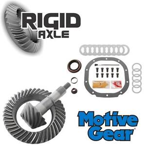 Ford 8 8 10 Bolt 4 56 Motive Gear Ring And Pinion Gear Set With Install Kit