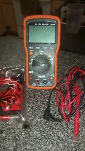 Klein Tools Mm2000 Electricition s Hvac Trms Digital Multimeter Tester