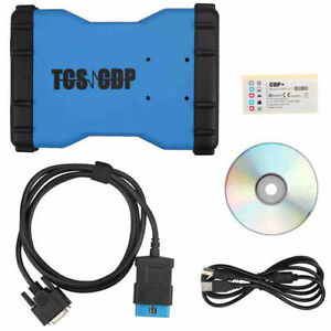 Tcs Cdp Pro Vci Obd2 Diagnostic Scanner Tool With Bluetooth 8 Pcs Car Cables