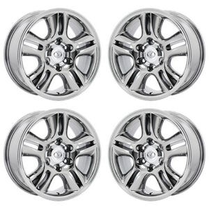 17 Lexus Gx470 Pvd Chrome Wheels Rims Factory Oem Set 4 74167