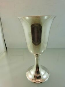 Plain Goblet Or Chalice Sterling By International Silver 1937 B 1997