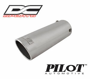 Dc Sports Bolt On Stainless Steel Exhaust Muffler Tip 13 25 X 4 5 X 4