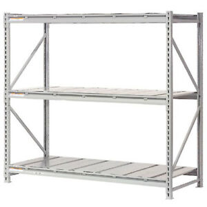 Extra High Capacity Bulk Rack With Steel Decking Starter Unit 72 w X 24 d X
