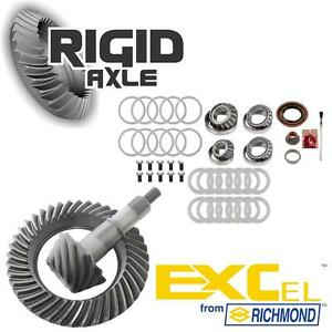 10 14 Ford 8 8 10 Bolt 3 73 Richmond Excel Ring Pinion Gear Master Bearing Kit